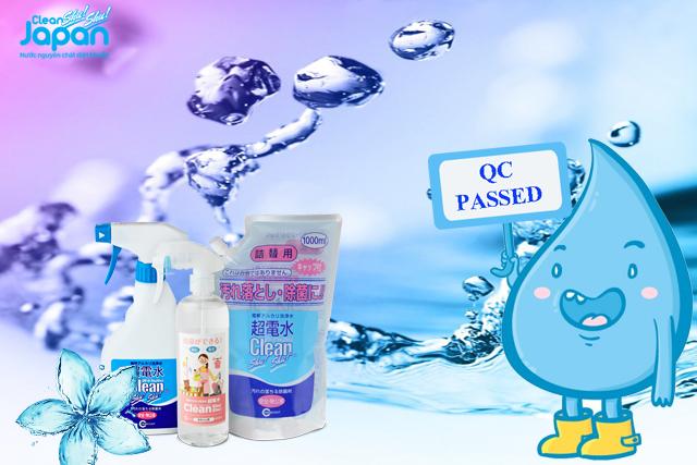 Clean Shu Shu Japan được kiểm soát chặt chẽ về chất lượng