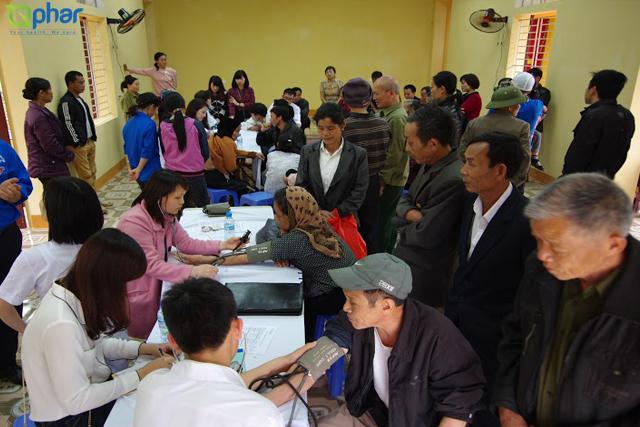 Gphar - Khám chữa bệnh miễn phí dành tặng người nghèo tỉnh Vĩnh Phúc